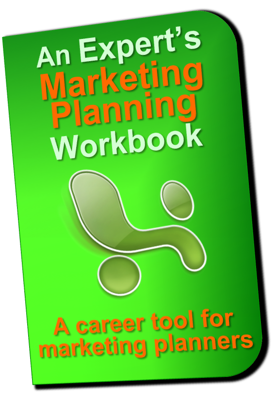 Marketing Plan Workbook is your ultimate marketing plannning template